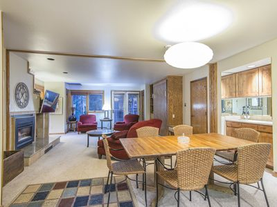 Photo for Ski in Ski out two bedroom at the full service Iron Horse Resort. Sleeps 8.