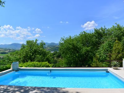 Photo for An authentic countryhouse! with panoramic swimming pool and private garden. Not to be missed!