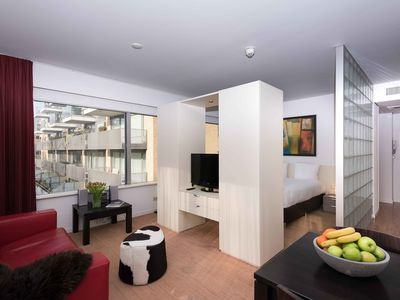 Photo for Fully equipped deluxe apartment of 45m²