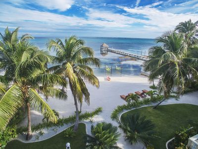 Photo for Newly Updated 4 Bed, 4 Bath Beachfront Home with Pool and Sea Hammocks!