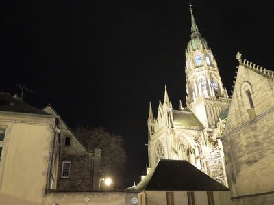Modern, beautiful apartment in medieval Bayeux