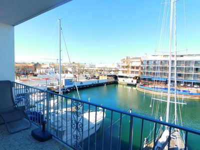 Photo for Beautiful apartment in Port Salins, Empuriabrava
