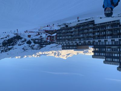 Photo for La Plagne Bellecote: Magnificent 2-room apartment, sleeps 5, overlooking the slopes