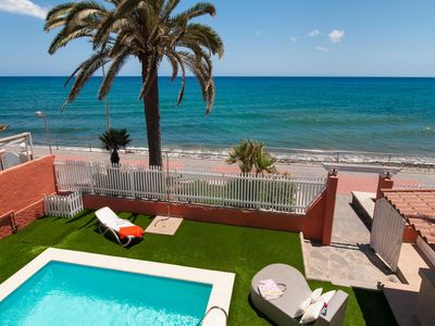Photo for Beach Front Villa - Veril Gran Canaria