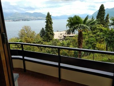 Photo for Vista Lago Due in centre of Stresa with terrace and superb view of lake and WiFi
