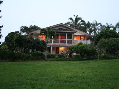 Photo for Lovely, spacious home on golf course with lush mountain views