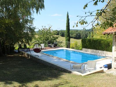 Photo for B&B accommodation with stunning gardens and pool, near Verteillac. Pet Friendly