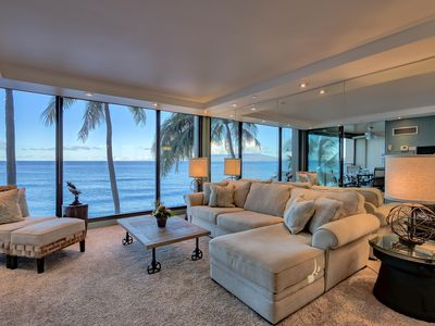 Photo for ⛱Awesome 3RD Floor Ocean Front Condo at the Mahana