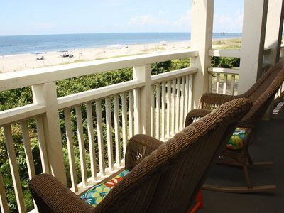 Photo for Balcony At The Beach: 2 Bed/2 Bath Oceanfront Condo with Community Pool