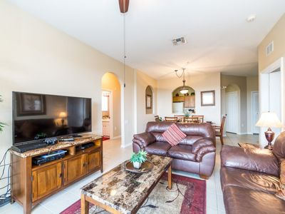 Photo for Windsor Hills 3 bedroom Condo only 5 Minutes to Disney and Next to Clubhouse!