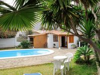 The accommodation was perfect for our needs, comfortable and well equipped.