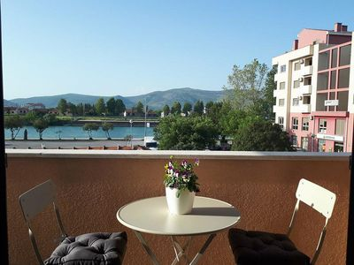 Photo for New comfortable penthouse, overlooking river and Neretva valley, 20m from river