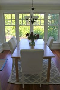 Dining room - seats eight people