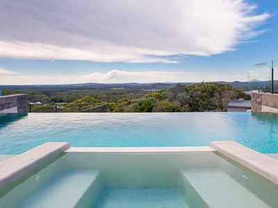 Photo for 'One Mile Ridge', 12a/26 One Mile Close - stunning views, air con, infinity pool