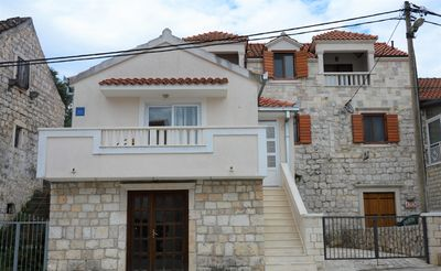 Photo for in small stone house for sole use, free parking, ac and wi-fi,partial sea view