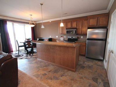 Photo for Like New! Lands End Condo 2 Bedroom, Grand Glaize Arm & Main Channel Views