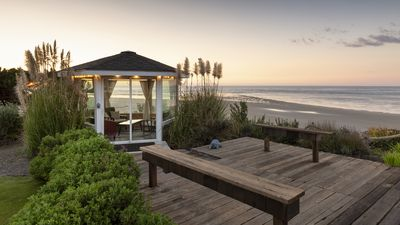 Photo for Oceanfront, Sleeps 13, Hot Tub, Beach Access, New Remodel, Wood Stove,