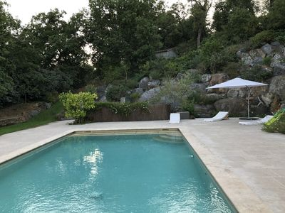 Photo for House with pool 4 bedrooms Grimaud