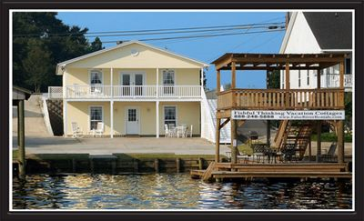 Photo for False River waterfront cottage