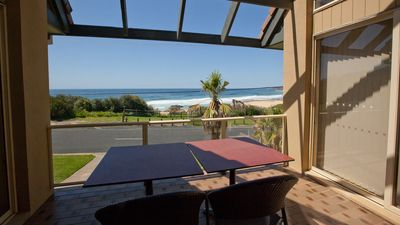 Photo for BEACHVIEW: 1/33 Scenic Drive- Great View. Walk to beach, Blue Pool & shops.