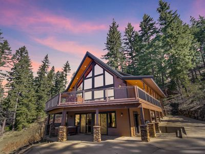 Photo for SAVE 25%-Luxury Private Mountain Home | Amazing Views | Game Rm | Hot Tub
