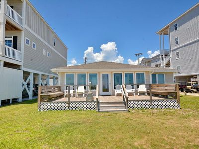 Photo for Roy-Al, Oceanfront Home in Cherry Grove Close to Pier