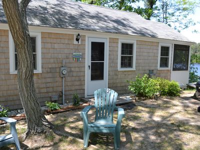 Photo for Waterfront Cottage On Minister's Pond W/ Private Beach, Dock, Rowboats