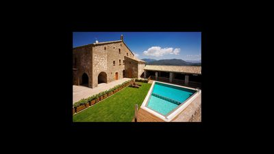 Photo for 9 bedroom Villa, sleeps 18 in Ponts with Pool and WiFi