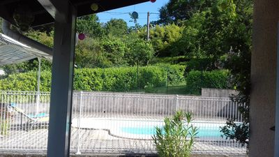 Photo for The ideal villa with pool near the river and shops.