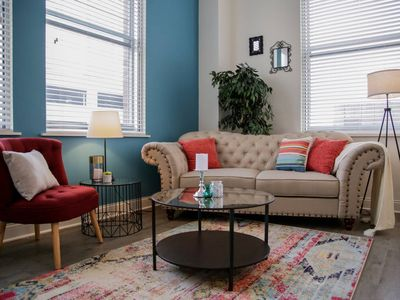 Photo for CENTRAL 2BR APT DOWNTOWN - STEPS TO EVERYTHING!