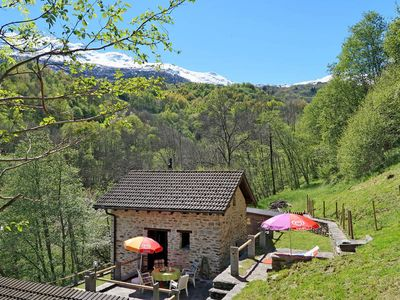 Photo for Vacation home Casa Brugnanico  in Leontica, Ticino - 4 persons, 2 bedrooms