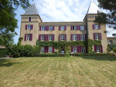 Photo for A beautiful 1800 Castle near Toulouse, Mirepoix and Carcassonne.