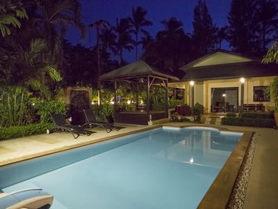Photo for Natien Beach and Garden Villa, very close to the beach, private and spacious