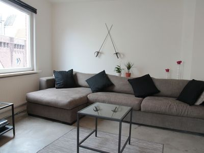 Photo for Atmospheric apartment in the centre of Vlissingen close to boulevard and beach