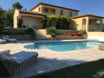 Photo for The bastide and its bastidon heated pool