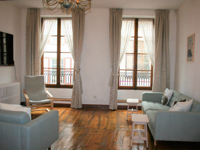 Photo for Impressive Four Story Cyclist Friendly Town house In Bourg d'Oisans, Sleeps 10