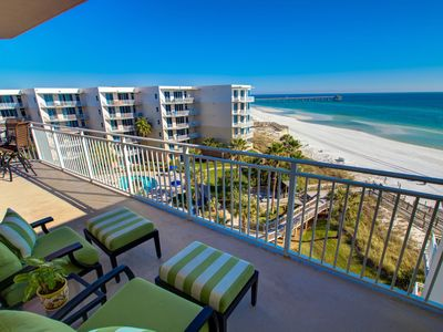 Photo for Waterscape B602 Oceanfront!  3 BR plus bunkroom Penthouse with Top 3 view!  Must See!