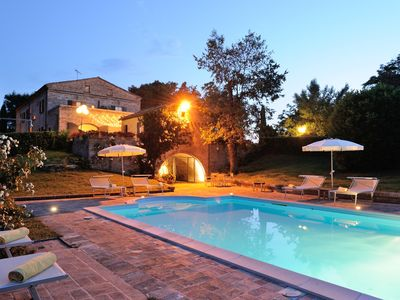 Photo for Villa rent with swimingpool, garden, tenniscurt, near the sea