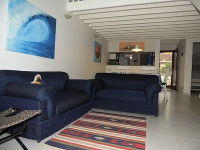 Photo for MARESIAS-House in a condo with complete leisure, at the edge of Santos-Rio, 100m from the beach