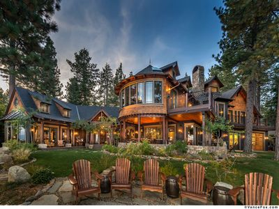 Photo for Exquisite North Lake Tahoe Lakefront estate