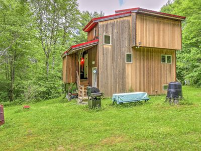 Photo for Serene Cherry Valley House w/Deck on 6 Acres!