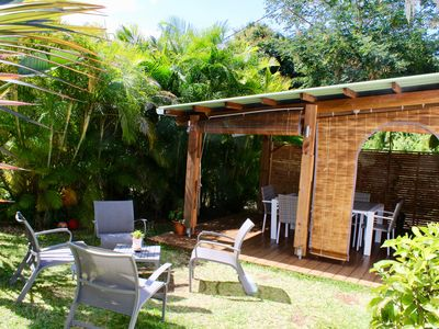Photo for House Le Papangue with 3 bedrooms in beautiful Creole garden