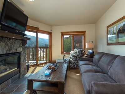 Photo for Slope Views, Master Suite w/King Bed, Very Short Walk to Gondola, Free WIFI