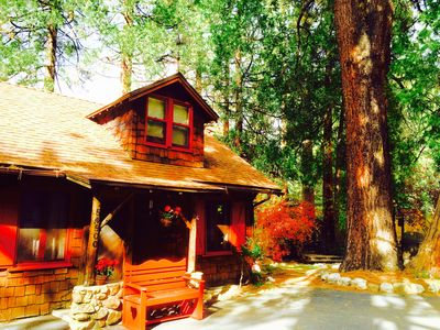 Photo for Best Location On Creek! Classic charming cabin in village from $156/nt!