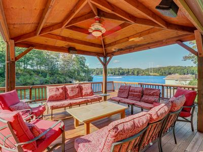 Photo for NEW LISTING! Perfect Lake Getaway centrally located w/dock, kayaks, theater room