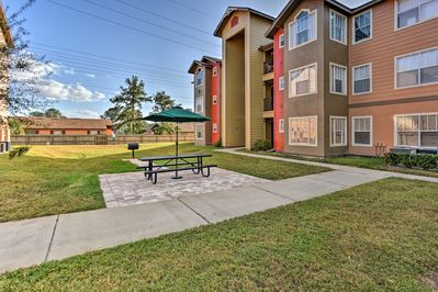 Enjoy a peaceful retreat in this quiet and gated community.