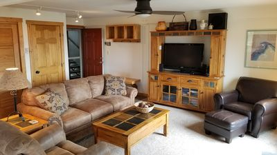 Ample seating in the living room