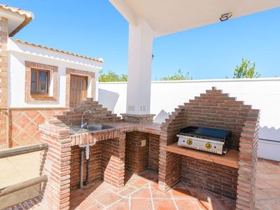 Photo for Country House Zambrana with Pool, Terrace, Mini Golf, Basketball Court, Wi-Fi & Air Conditioning; Parking Available