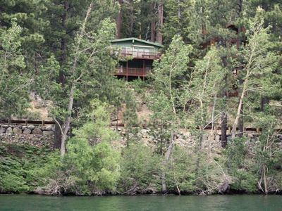 Photo for Direct Donner lake access, 3 bedroom, 2 bath, sleeps 7 DLR#001