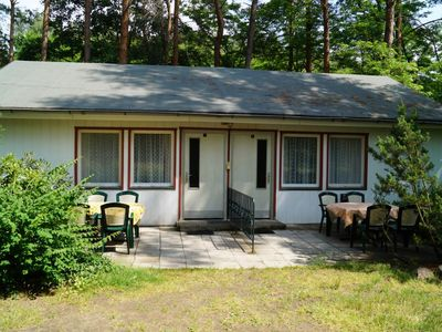Photo for Semi-detached bungalow in Waldrandlage am See